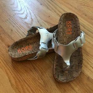Kors Michael Kors kids size 3 sandal